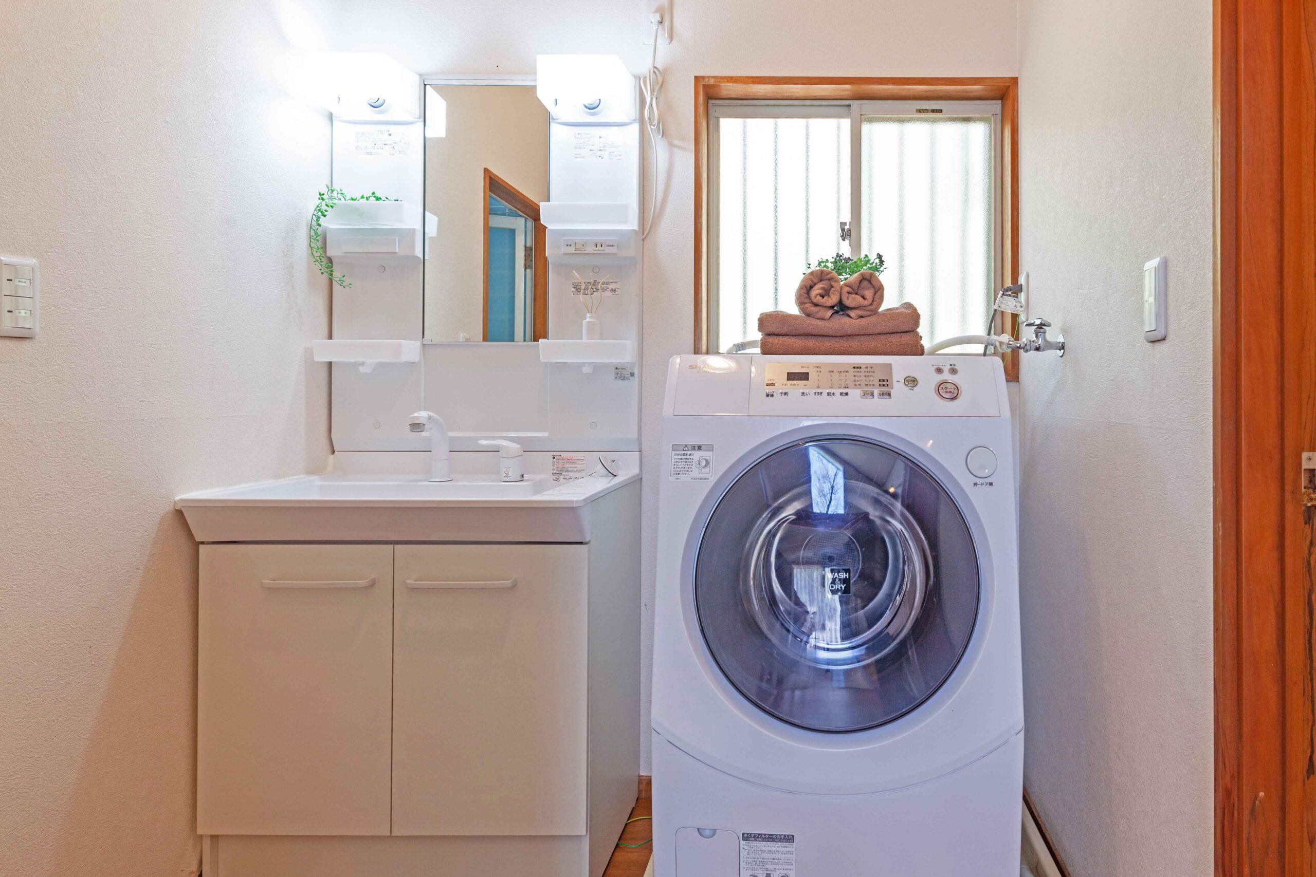 洗面台・洗濯機